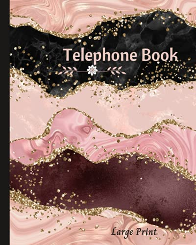 Compare Textbook Prices for Phone Book: Large Print Telephone Book for Seniors, - Contacts, Numbers, Address, Email . telephone book a-z. large size  ISBN 9798540803564 by phone books print