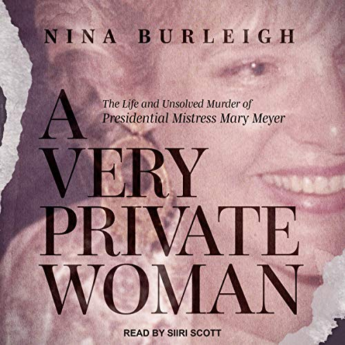 A Very Private Woman audiobook cover art