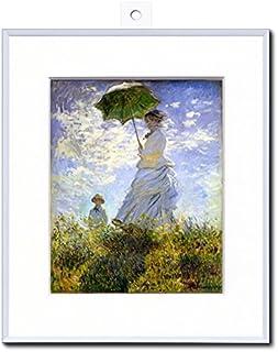【ノーブランド品】 モネ 「日傘をさす婦人」 複製名画パネル