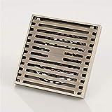 ZTHC Plaza de Drenaje de Acero Inoxidable de Gran cilindrada Regulable Dispositivo de protección de Descarga Multifuncional Piso Cocina móvil Baño (Color : Single Use)