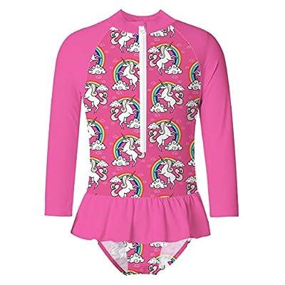 Adolife Toddler Girls Swimsuit Bathing Suits Lo...