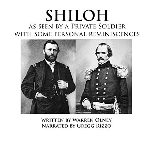 """Shiloh"" as Seen by a Private Soldier with Some Personal Reminiscences Titelbild"
