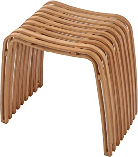 SPA Stool Furniture Bamboo Stool Low Stool Handmade Bamboo Stool Natural Bamboo Shower Stool Makeup Stool SPA Bathroom Stool