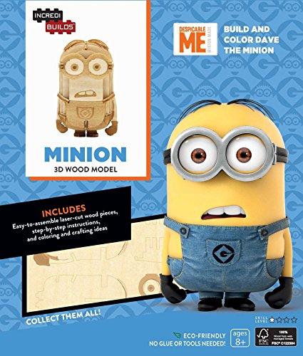 Preisvergleich Produktbild INCREDIBUILDS: MINIONS 3D WOOD MODEL