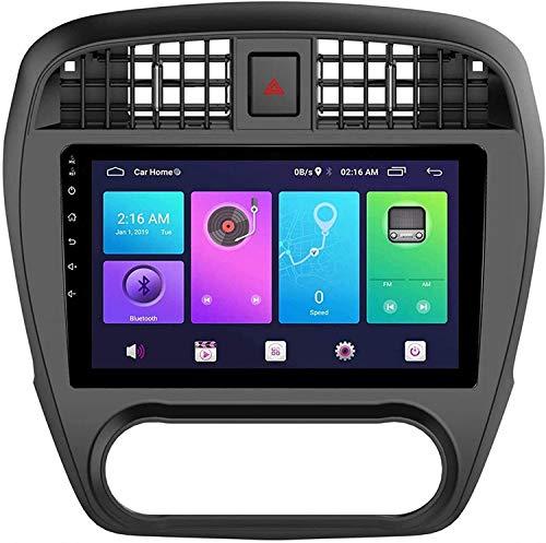 GPS Navigation Head Unit Sat Nav Auto Audio Player MP5 FM Radio Receptor Coche Estéreo De 9 Pulgadas Pantalla Táctil Android 10.0 Compatible para Sylphy 2005-2012,4 Core 4G+WiFi 2+32GB