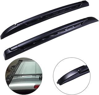 SCITOO fit for 2006-2017 Dodge Ford Honda Hyundai Kia Mazda 3 Nissan Toyota 2006-2011 2014-2017 Chevrolet Impala Adjustable Aluminum Roof Top Cross Bar Set Rock Rack Rail w//3 Kinds Clamp