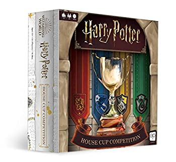 USAOPOLY Harry Potter House Cup Competition   Worker Placement Board Game   Play as Your Favorite Hogwarts House   Officially Licensed Harry Potter Game
