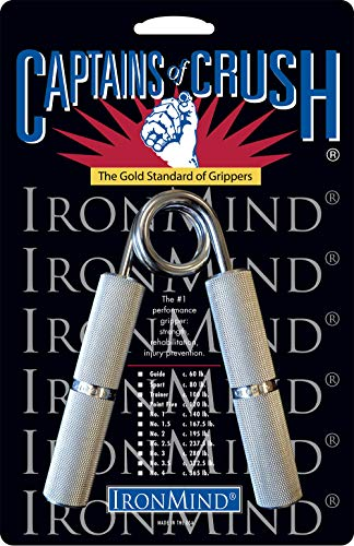 Ironmind Captains of Crush Hand Grippers Fitnessgerät, alle Größen, CoC No. 2.5 c. 237.5 lb 108kg