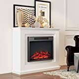 MODERN LIFE 2000W Electric Fireplace Suit