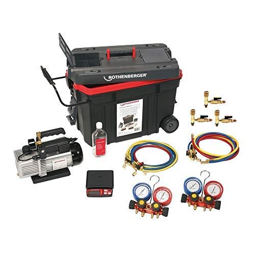 Rothenberger 1000000058 - Equipo refrigerador rocaddy-120 manometro digital