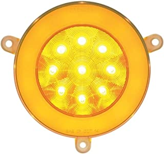 21 High Power LED 05+ Freightliner Century Glo Signal Light - Amber LED/Clear Lens