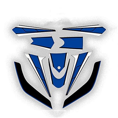 Pegatina del cuerpo de la motocicleta Frente y trasero Carro de la parte trasera Decalación impermeable Moto Calcomanías Pegatinas Kit para Yamaha Tmax 530 2012-2014 TMAX530 Accesorio Pegatinas