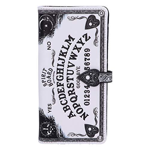 Nemesis Now White Spirit Board Geprägte Ouija Geldbörse, 18,5 cm