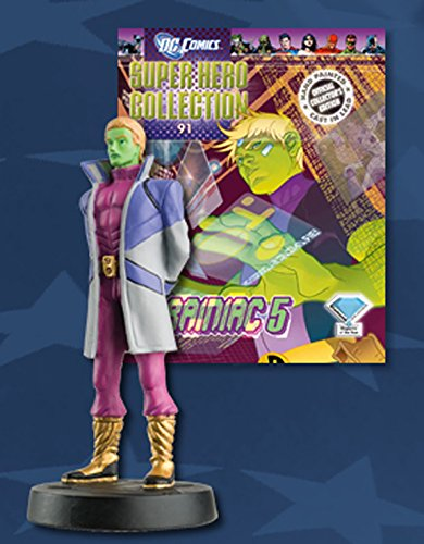 Statue von Blei DC Comics Super Hero Collection Nº 91 Brainiac 5