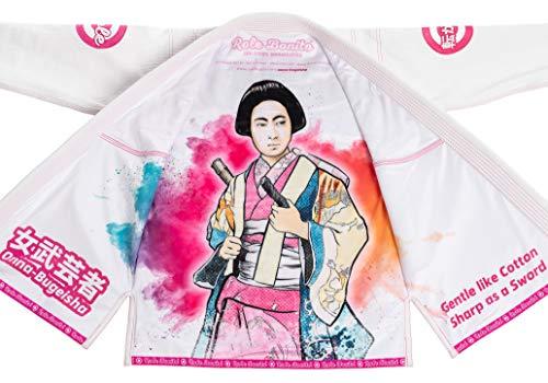 Onna Bugeisha - Kimono de Jiu-Jitsu Brasileño para Mujer (BJJ Gi Femenino) (F2)