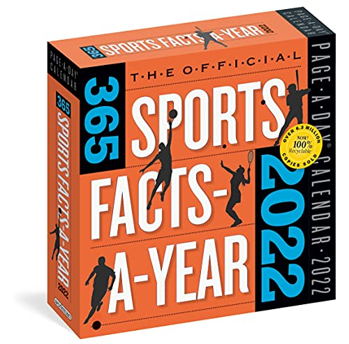 Official 365 Sports Facts-A-Year Page-A-Day Calendar 2022