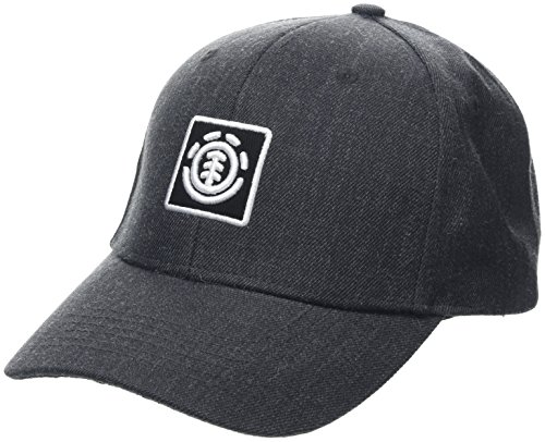Element Treelogo Cap Caps, Hombre, Charcoal Heathe, One Size