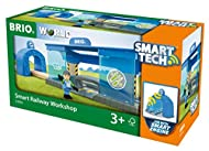 Smart Tech is the new Train technology from BRIO! Oh no, the train has broken down! The new Smart Tech Workshop will save the day, when passing a Broken Engine Action Tunnel, the Smart Tech Engine from BRIO starts to sound and act broken, rolls to th...