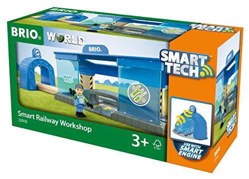 BRIO Bahn 33918 - Smart Tech Eisenbahn-Werkstatt