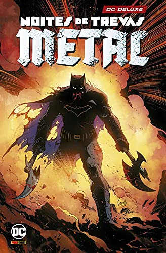 Dc Deluxe Batman: Noite Das Trevas - Metal