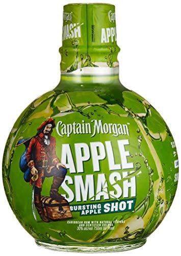 Captain Morgan APPLE SMASH Bursting Apple Shot (1 x 0.75 l)