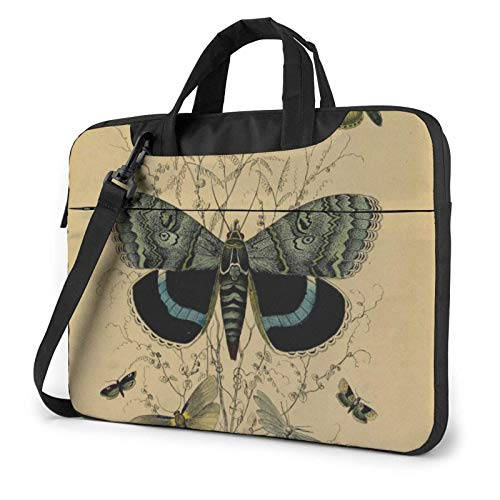 Los gráficos de la Mariposa Imprimieron el Bolso de Hombro del Ordenador portátil, maletín del Bolso de Mensajero del Negocio del Bolso de la Caja del Ordenador portátil