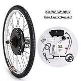 CO-Z 36V 500W 26'' Kit di Conversione Bici Elettrica Controllo Mozzo...
