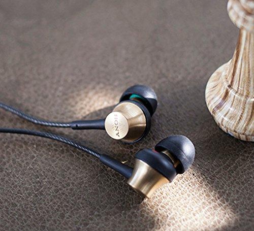 ソニーSONYイヤホンMDR-EX650AP:カナル型真鍮製ハウジングマイク付ブラスブラウンMDREX650APTQ