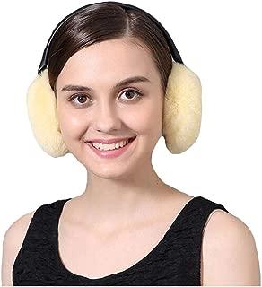 Women Ladies Outdoor Adorable Rabbit Fur Warm Earmuffs Headband Urchart
