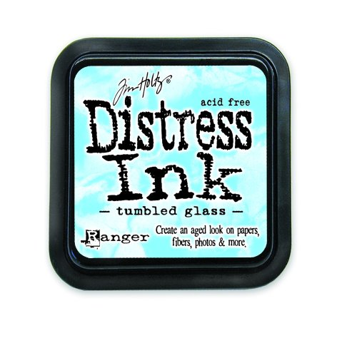 Ranger DIS-27188 Tim Holtz Distress Ink Pad, Tumbled Glass  
