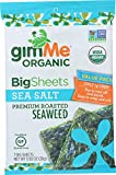 Gimme Health Foods, Seaweed Snack Sea Salt Sheet Organic, 0.92 Ounce