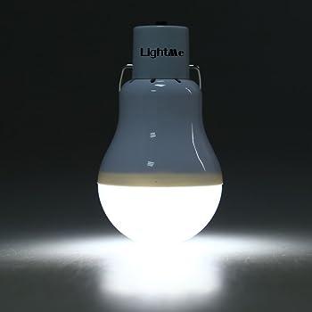 LightMe Portable 130LM Solar Powered Led Bulb Light Outdoor Solar Energy Lamp Lighting for Hiking Fishing Camping Tent