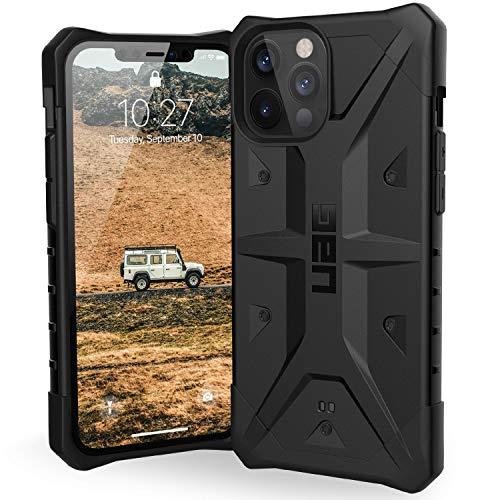 "Urban Armor Gear Pathfinder Hülle Apple iPhone 12 Pro Max (6,7\"" Zoll) Schutzhülle (Wireless Charging kompatibel, Fallschutz nach Militärstandard, Sturzfest, Ultra Slim Bumper) - schwarz"