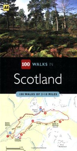 Scotland (Aa 100 Walks) (AA 100 Walks Series)