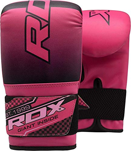 RDX Ladies Boxing Gloves Gel Bag Mitts Grappling Punch MMA Punching Mitts...