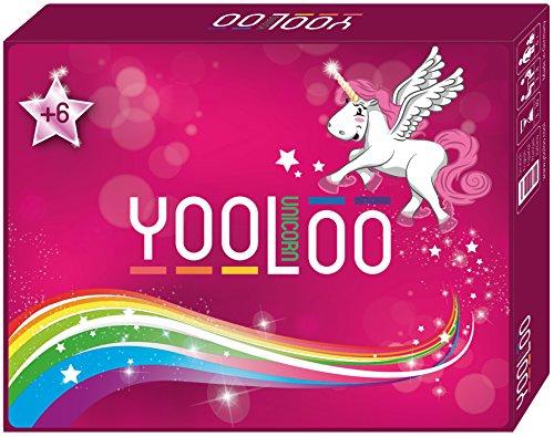 YOOLOO Unicorn – El divertido juego de cartas para niños, padres y...