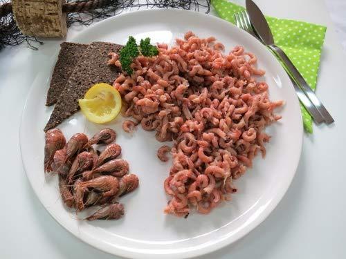 Nordseekrabben (Granat) Krabbenfleisch gepult typisch ostfriesisch Gesamtgewicht 200