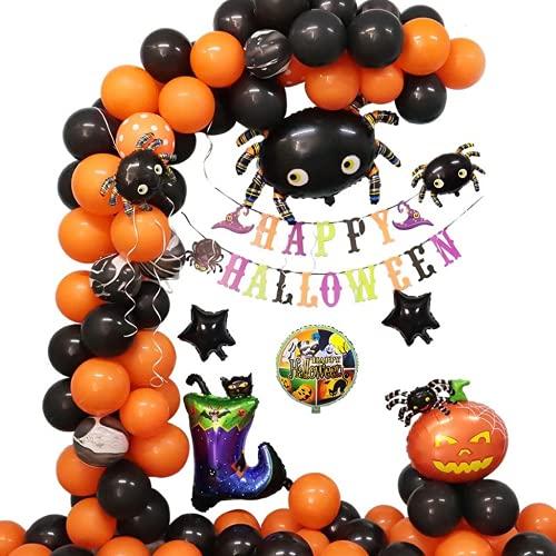Globos de Halloween del cuello de la araa de Halloween, disfraz de Halloween