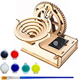 LOVK 3D Puzzles for Adults, Wooden Marble Run Craft Toy, 3D Wooden Pulzzles DIY Model Building Kits, Gift for Adults & Teen Boys Girls