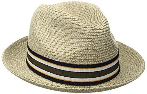 Chapeau Salemo Bailey of Hollywood chapeau pour homme chapeau de paille (L/58-59 - chatain)