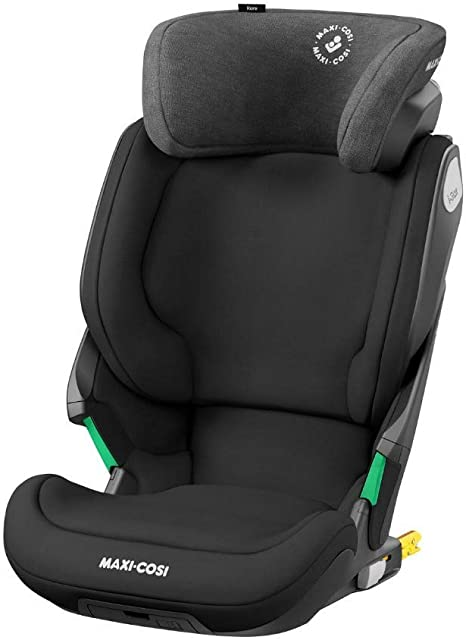 Maxi-Cosi Kore i-Size Booster Car Seat, Group 2/3 Car Seat with ISOFIX, i-Size Safety, 100 – 150 cm, 3.5 – 12 years, Authentic Black: image