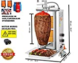 2019 New TurcoBazaar Original 110v 220v Automatic Kebab Machine Doner Machine Spinning Griller Tacos AL Pastor Machine ROTISSERIE Machine GYRO Griller (2 Burner Automatic LPG)
