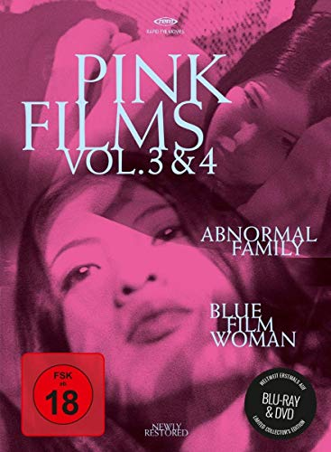Pink Films Vol. 3 & 4: Abnormal Family & Blue Film Woman (Special Edition) (+ DVD) [Blu-ray]