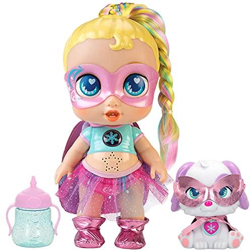 ColorBaby Super Cute 46763 – Super Cute Little Babies-Super bambola Regi c/animale