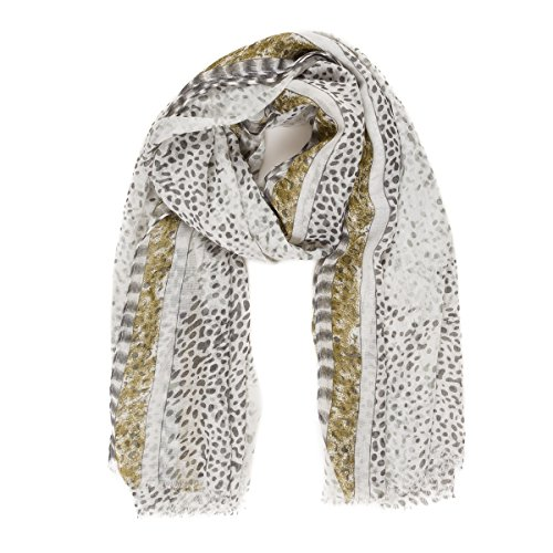 Scarf for Women Lightweight Geometric Fashion for Spring Fall Scarves Shawl Wraps (SS14)