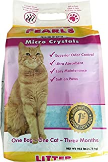 Ultra Pet Cat Litter Pearls Micro Crystals, 7-Pound Bag