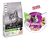 <span class='highlight'>Purina</span> <span class='highlight'>Pro</span> <span class='highlight'>Plan</span> <span class='highlight'>Sterilised</span> Cat Optirenal Rich in Salmon 3kg Premium Dry Cat Food with <span class='highlight'>Tuna</span> & Salmon for Neutered/<span class='highlight'>Sterilised</span> <span class='highlight'>Cats</span> <span class='highlight'>Pro</span>tein-rich Low-fat Nutrition <span class='highlight'>Pro</span>mote Neutral pH