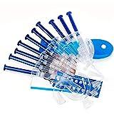 Blanqueamiento de Dientes Kit Oral Sistema de blanqueamiento 10PCS Gel jeringas Kit blanqueador de Dientes Equipo Dental con bandejas para Dientes sensibles a Proteger su Salud
