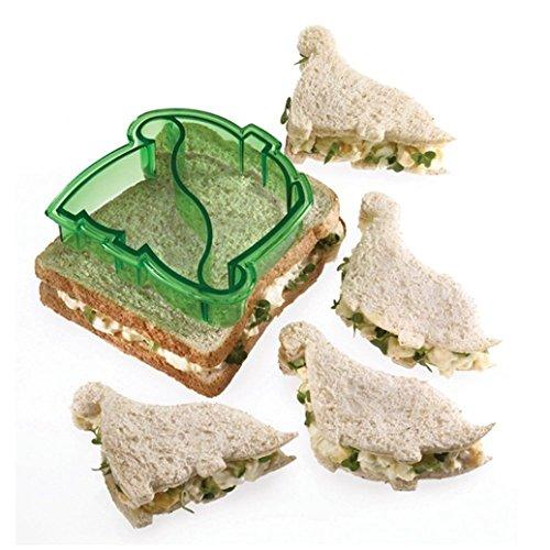 Bodhi2000® - Emporte-pièce dinosaure pour sandwich, cookies, gâteau, pain, biscuit - Couleur aléatoire taille unique dinosaure