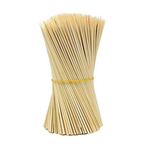 Lumanuby - 90 pinchos de madera para barbacoa